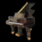 Коричневый рояль Ronisch Рениш Дрезден германского изготовления (фото)