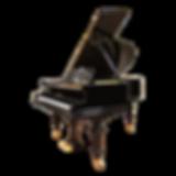 Чёрный кабинетный рояль Бехштейн М-180 (фото)