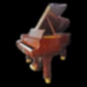 Стейнвей коричневый кабинетный рояль (бубинга), фото