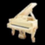 Старинный рояль Блютнер «Людовик XV» дизайна рококо (фото)