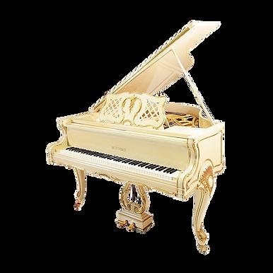 Рококо-рояль Блютнер Людовик XV Германия (фото)