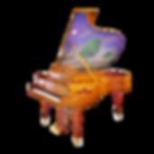Seiler Solitaire дизайнерский красивый немецкий рояь Зайлер Вдохновение с инкрустациями и живописью (фото)
