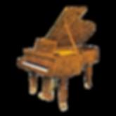 Seiler Prado дизайнерский немецкий рояль коричневой отделки корнем оливы Зайлер Прадо (фото)