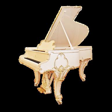 Белый рояль рококо Людовик XV Стейнвей энд санс (фото)