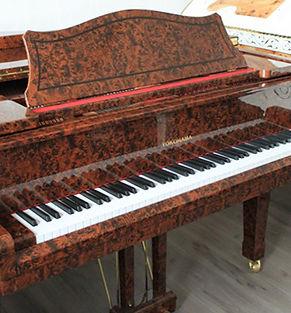 Коричневый рояль Yokohama недорого Япония продается фото