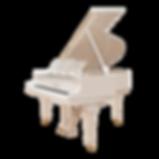 Steinway Sons белый кабинетный рояль Стейнвей (фото)