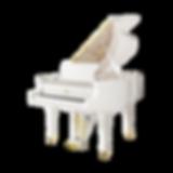 Белый рояль элитный Fazioli Фациоли (фото)