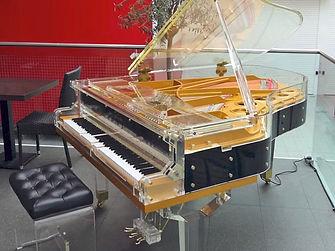 Прозрачный рояль Мендельсон самоиграющий (фото)