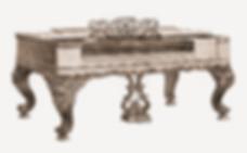 Старинное столообразное фортепиано Стейнвей 1880 года (фото)