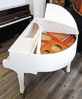 Мини рояль белого цвета Мендельсон «Бабочка» (фото)