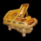 «Карл Бехштейн», рояль рококо императора Фридриха III, живопись, золото (фото)