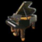 Черный Steinway & Sons O-180 «ар-деко» (фото рояля)