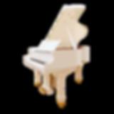 Johannes Seiler белый кабинетный рояль недорого, Иоганнес Зайлер, фото