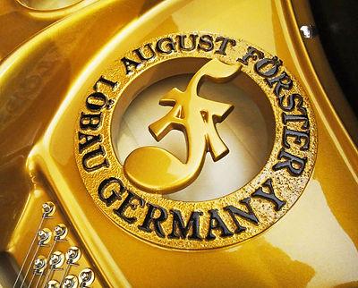Элитный рояль, изготовленный в Германии (фото)