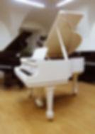 Белый малый кабинетный рояль Бехштейн 160 (фото)