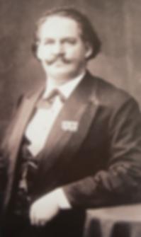 Карл Бехштайн, портрет основателя фортепианной фабрики C. Bechstein (фото)