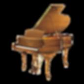 Seiler Chippendale германский кабинетный рояль Зайлер Чиппендейл с изогнутыми ножками кабриоль (фото)