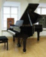 Черный кабинетный рояль Бехштейн 190 (фото)