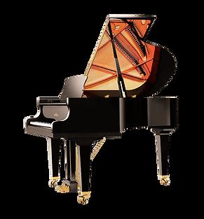 Черный рояль кабинетный Шиммель Schimmel (фото)