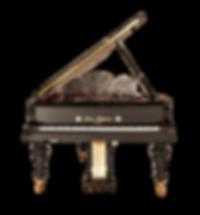 Дизайнерский кабинетный рояль Блютнер модель Юлиус Блютнер (фото)