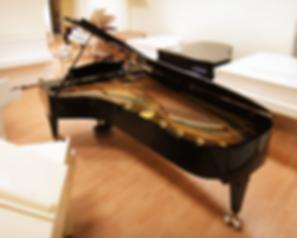 Большой чёрный концертный рояль C. Bechstein 282 (фото)
