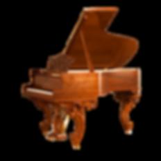 Барокко-рояль коричневой отделки «Франц Лист» Штайнгребер и сыновья (фото)