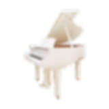 Мини рояль Irmler Ирмлер белый полированный длиной 148 см (фото)