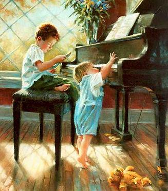 Дети и рояль