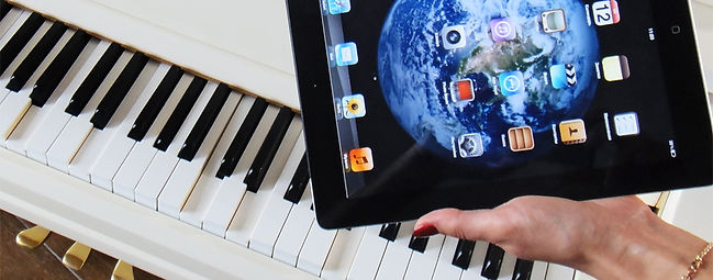 Самоиграющий рояль с iPad-управлением_фото