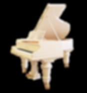 Белый классический рояль Бехштейн (photo)