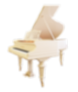 Белый классический немецкий рояль Бехштейн (фото)
