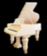 Белый рояль К. Бехштейн (Германия), фото