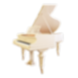 Белый классический старинный рояль Бехштейн C. Bechstein (Германия), фото