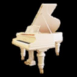Красивый классический белый рояль К. Бехштейн Берлин (фото)