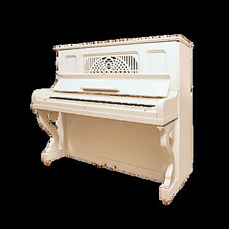 Пианино Steinway Стейнвей в отделке цвета слоновой кости (фото)