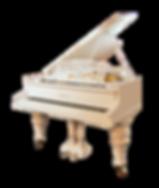 Белый кабинетный рояль Рениш Ronisch фото
