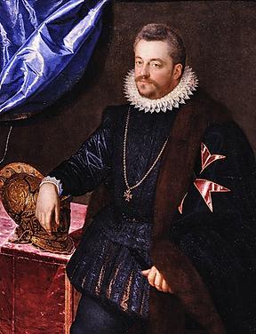 Герцог Фердинандо Медичи, спонсор создания первого фортепиано, портрет (фото)