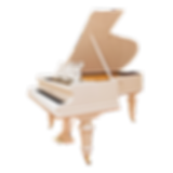 C. Bechstein кабинетный белый классический рояль К. Бехштейн (фото)