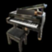 Черный кабинетный рояль Петрофф Petrof Чехия 173  см (фото)