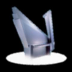 Seiler Meteorit — дизайнерское хай-тек фортепиано серебристый металлик Зайлер «Метеорит», Германия (фото)
