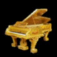 Самый красивый рояль Золотой Амадеус живопись бронза резьба (фото)