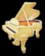 Steinway & Sons Louis XV рояль Стейнвей Людовик XV дизайна рококо белый с золочением (фото)