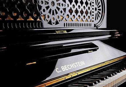 Чёрное фортепиано Бехштейн C_Bechstein_фото