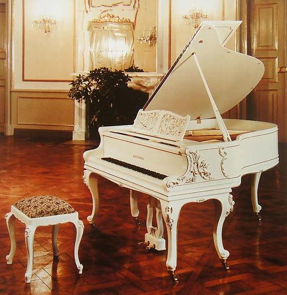 Рояль рококо Людовик XV Аугуст Фёрстер (фото)