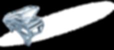 Рояль дизайн хайтек металлик Пикассо_фот