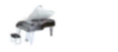 Хай-тек-рояль с прозрачной крышкой Милле