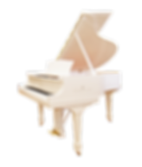 Steinway sons белый кабинетный рояль Сте