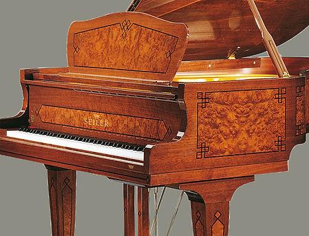 Seiler Зайлер рояль кабинетный немецкий высокий класс (фото)