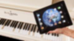 Самоиграющий рояль с iPad-управлением (фото)
