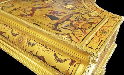 Самый красивый золотой рояль Амадеус (фото)